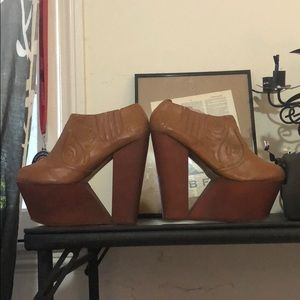 Privilege wedge shoes